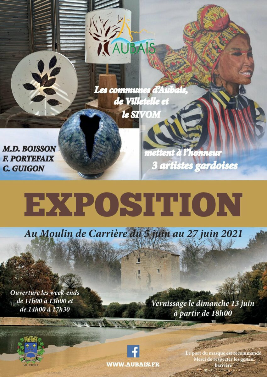 affiche expo moulin