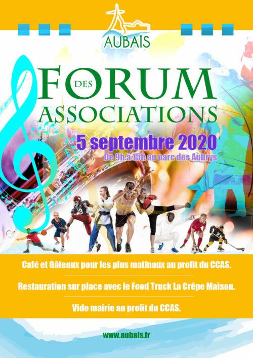 Affiche Forum Des Assos 2020